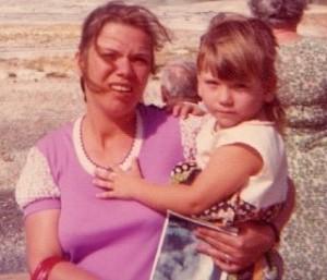 Me and Mom circa 1975